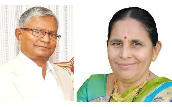 shri.vidyadhar .shyamkul,shrimati.latika.vidyadhar.shyamkul.Latika Eye specialty clinic And Maternity specialty Clinic goregaon
